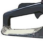 Motorsäge Handgriff mit Schalter