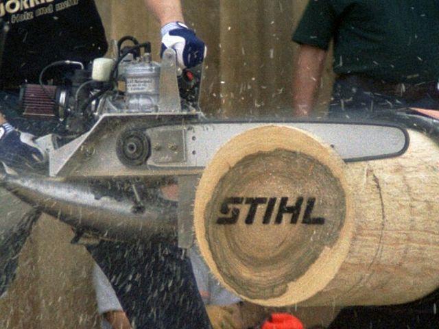 Timbersports Wettbewerb